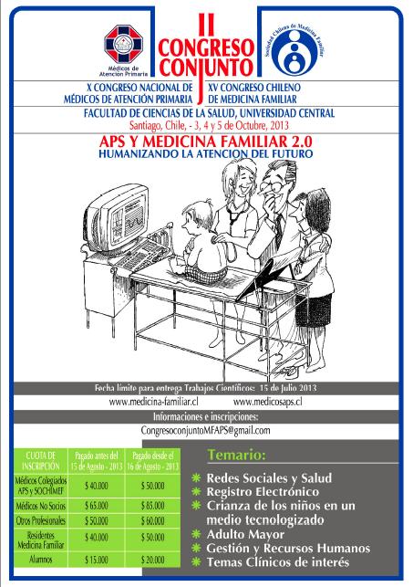 Afiche Congreso Conjunto 2013