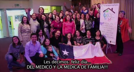 Saludo desde Valparaíso del Día Mundial del Médico de Familia
